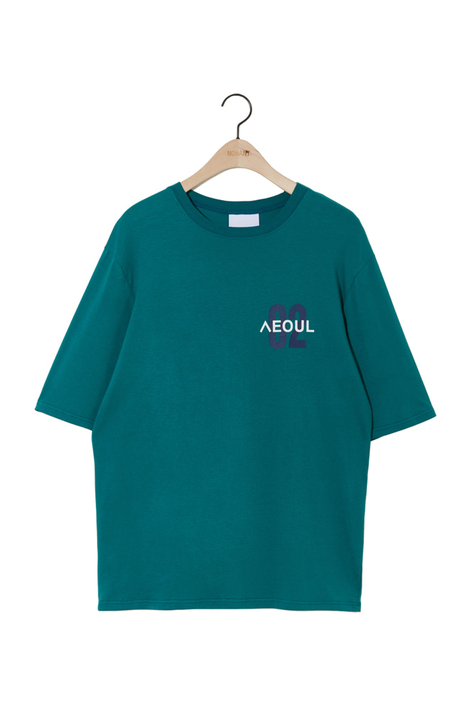 02 SEOUL T SHIRT BLUEGREEN