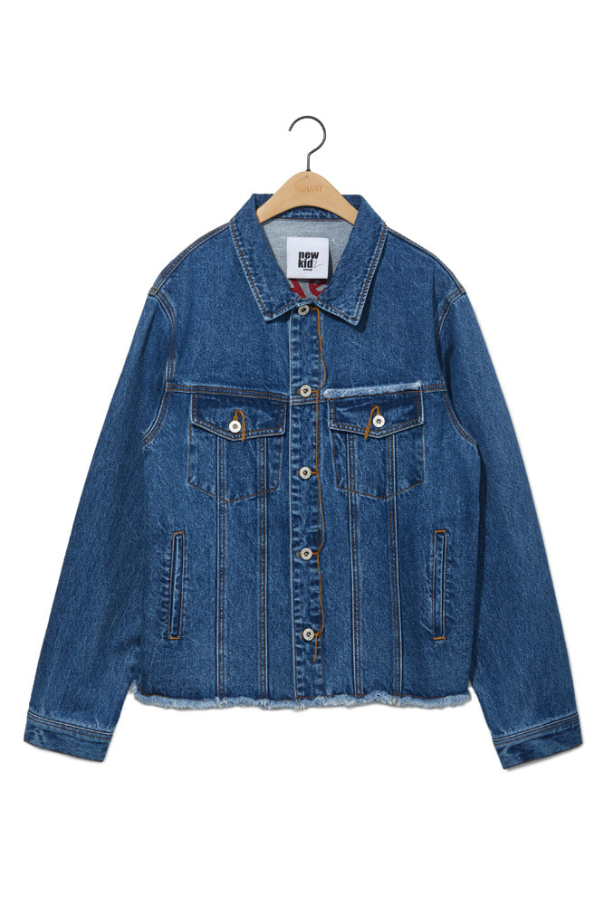DENIM JACKET MID BLUE
