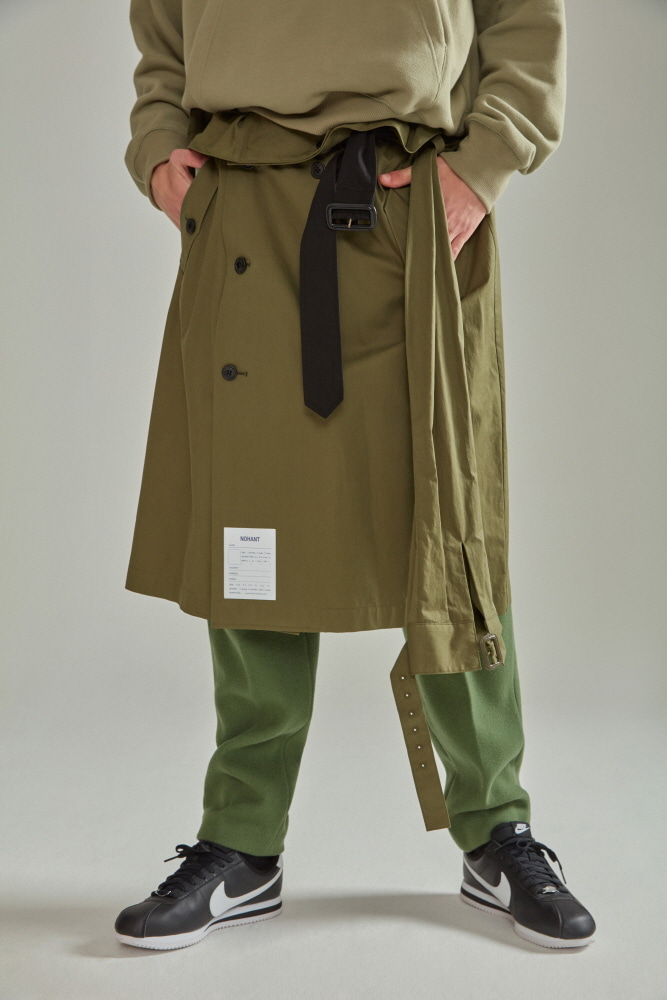 TRENCH LAB SKIRT KHAKI