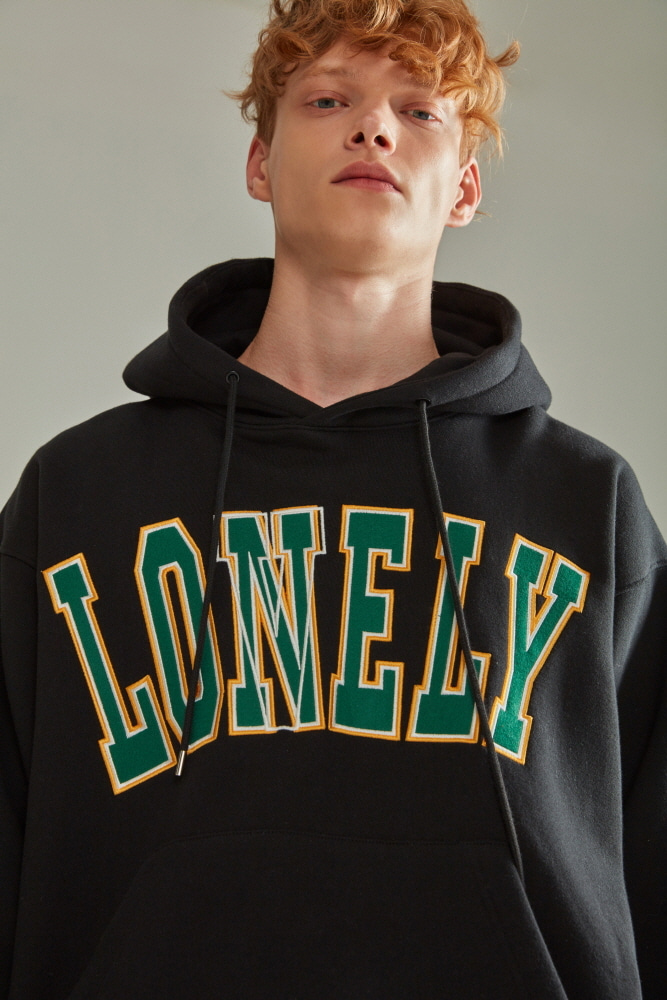 LONELY/LOVELY HOODIE BLACK