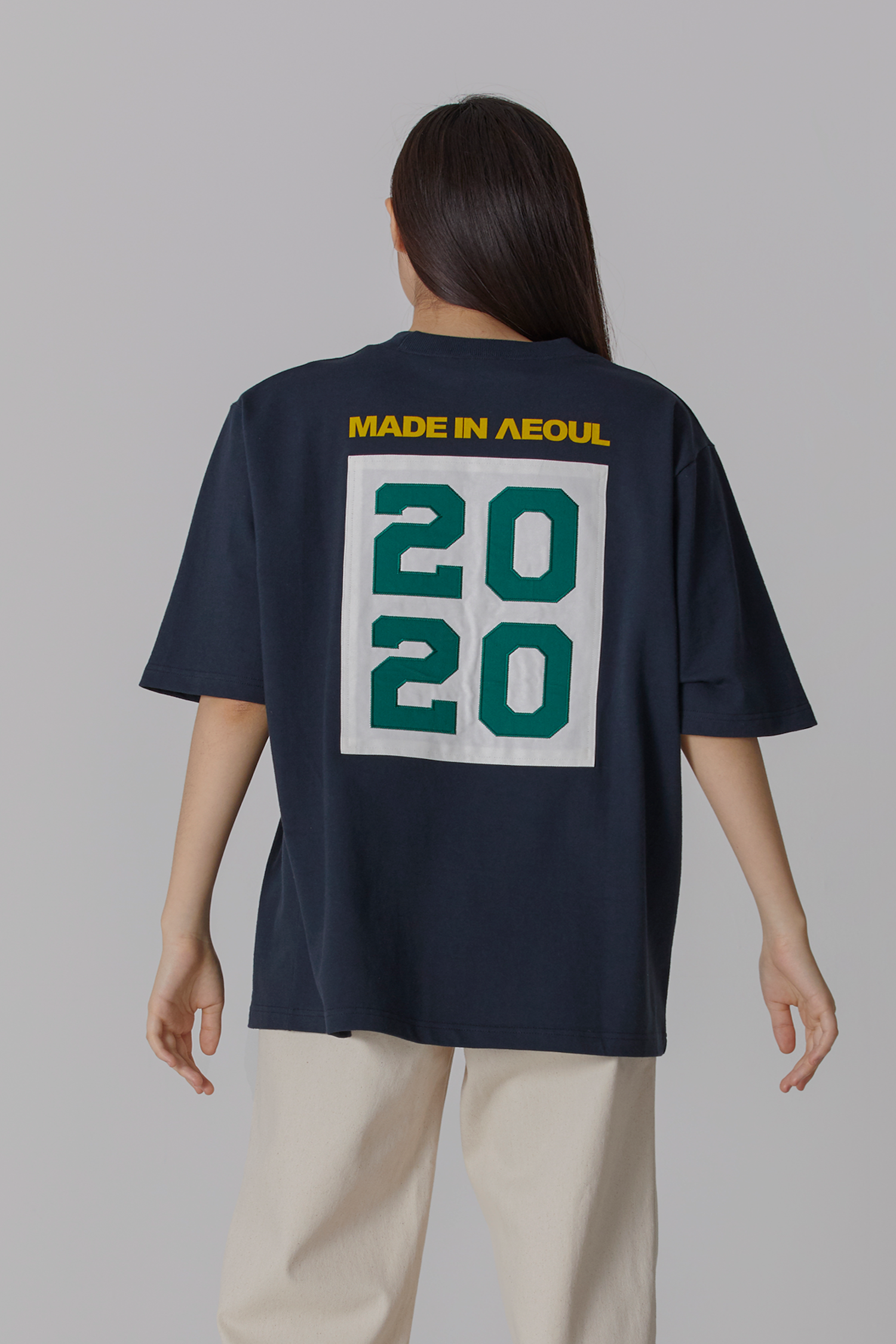 [예약배송] MADE IN SEOUL 2020 T SHIRT NAVY