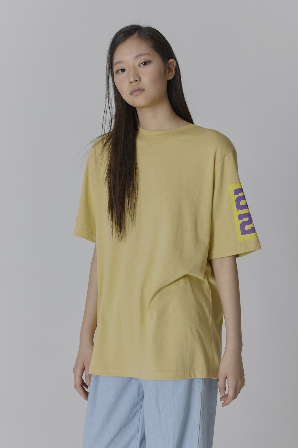 MADE IN SEOUL 2020 SLEEVE T SHIRT MUSTARD