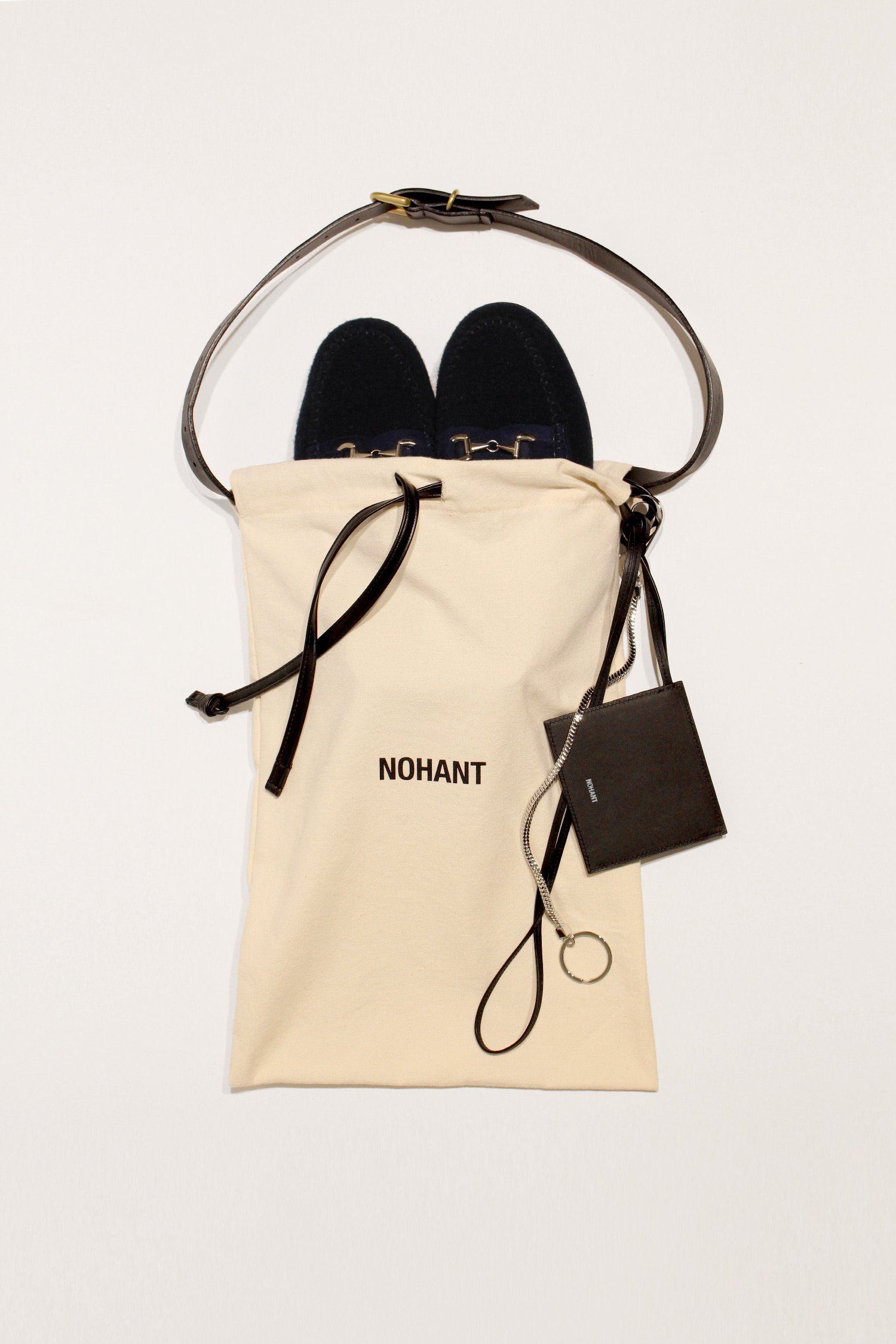DETACHABLE SHOES BAG BLACK