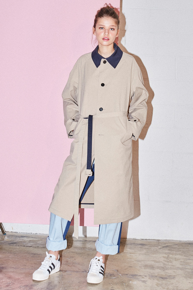BELTED MAC-TRENCH BEIGE