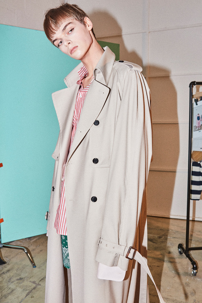 DETACHABLE TRENCH-COAT BEIGE