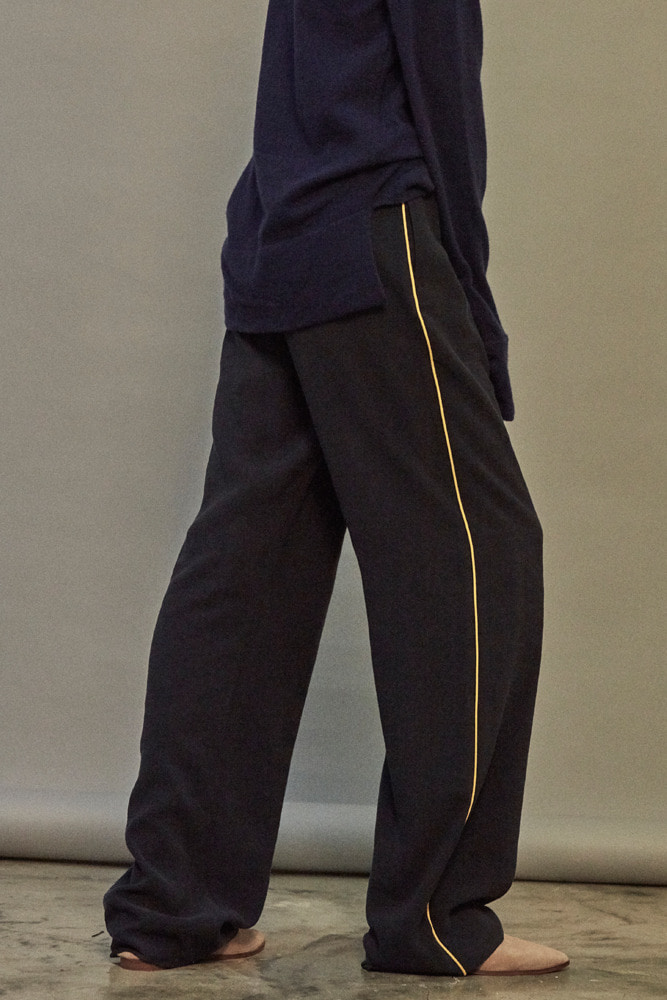 BRUNCH WIDE PANTS NAVY