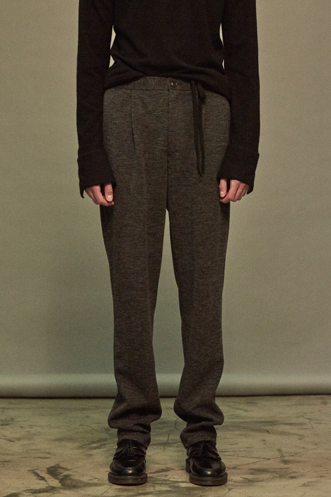 JERSEY TROUSER DARK GRAY