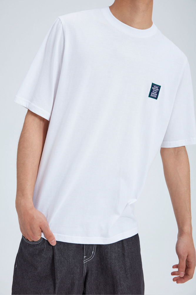 LOVE CITY WAPPEN T SHIRT WHITE