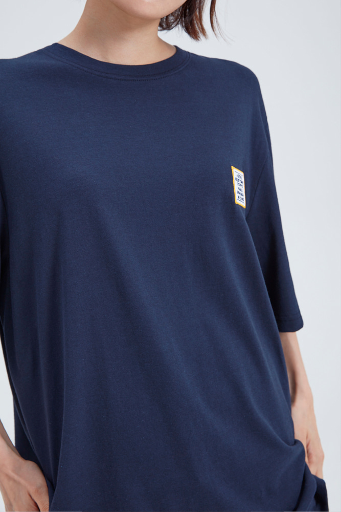LOVE CITY WAPPEN T SHIRT NAVY
