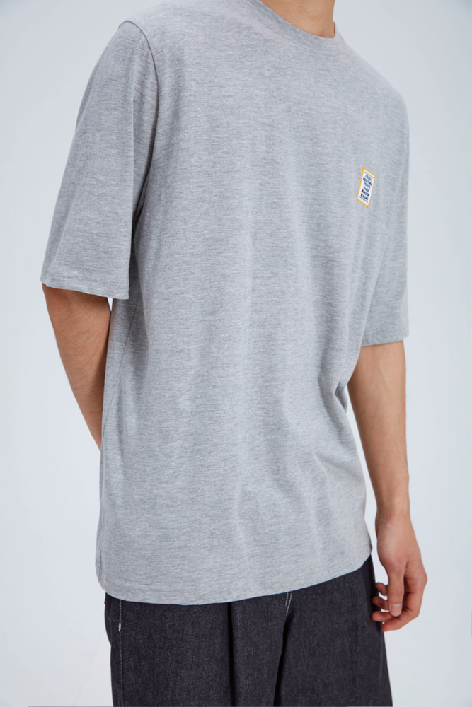LOVE CITY WAPPEN T SHIRT GRAY