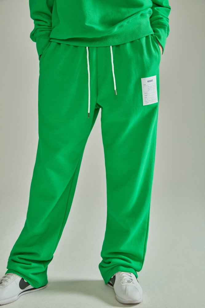 NAME LABEL SWEATPANTS GREEN