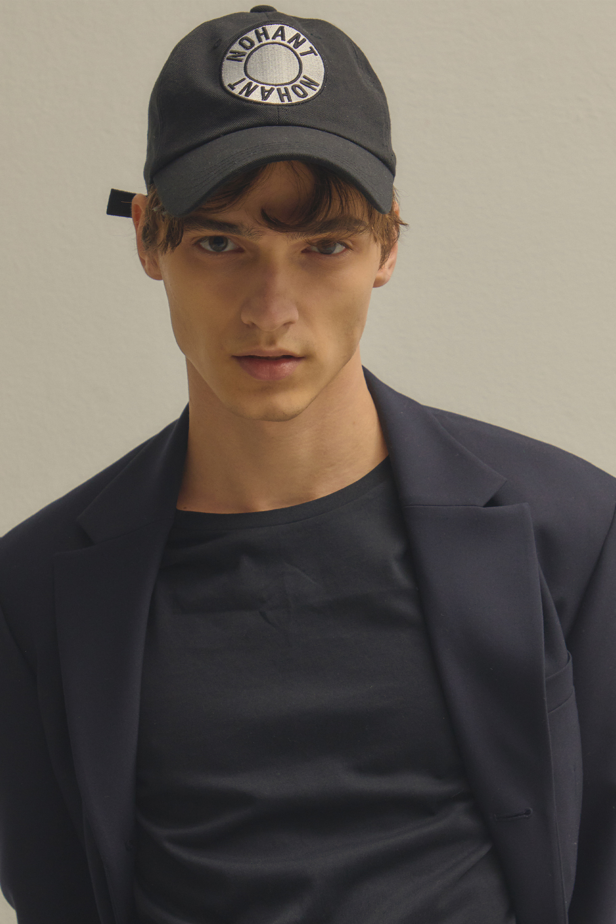 LOGO PATCH BALL CAP BLACK