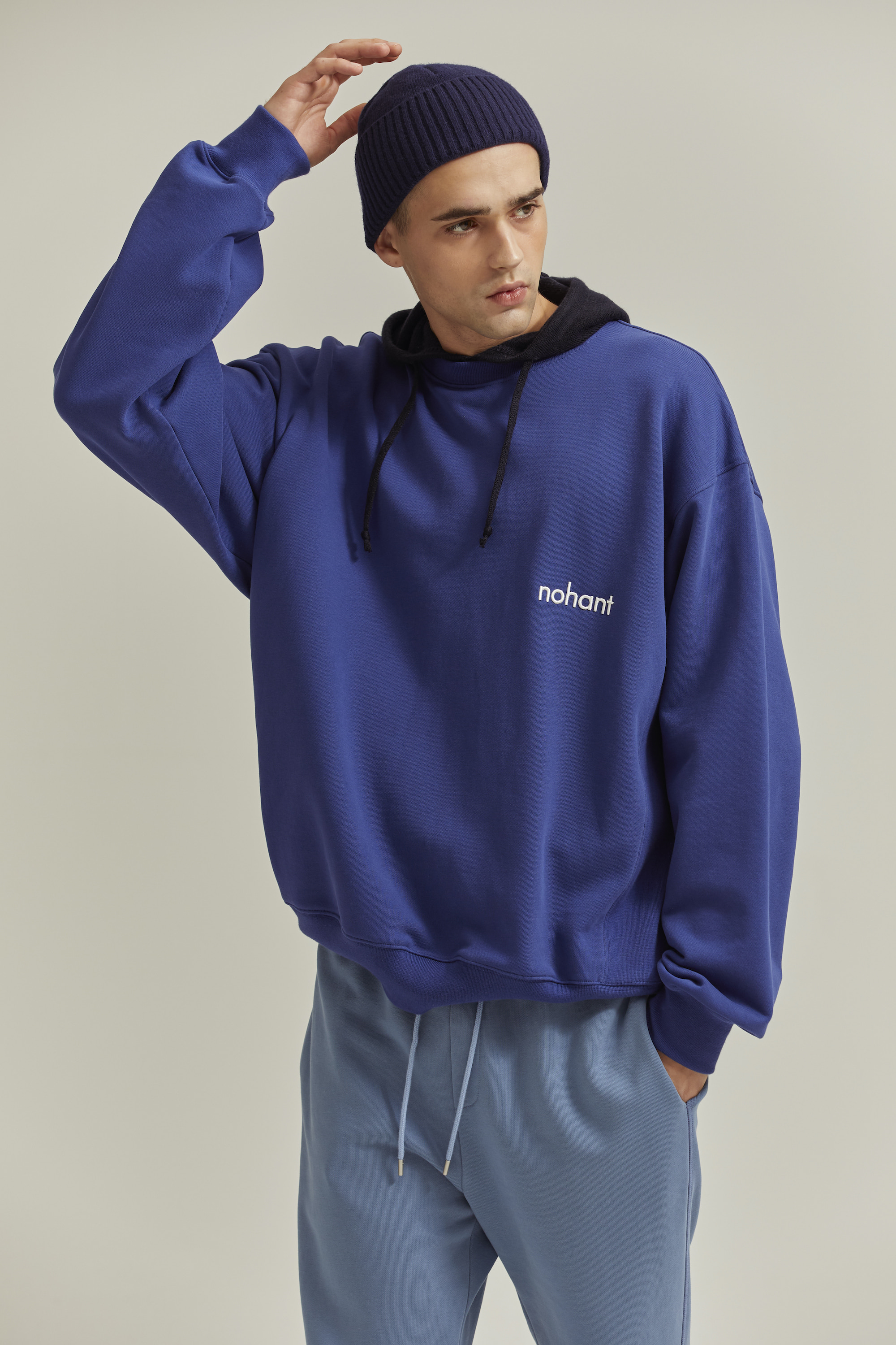 LOGO SWEATSHIRT BLUE