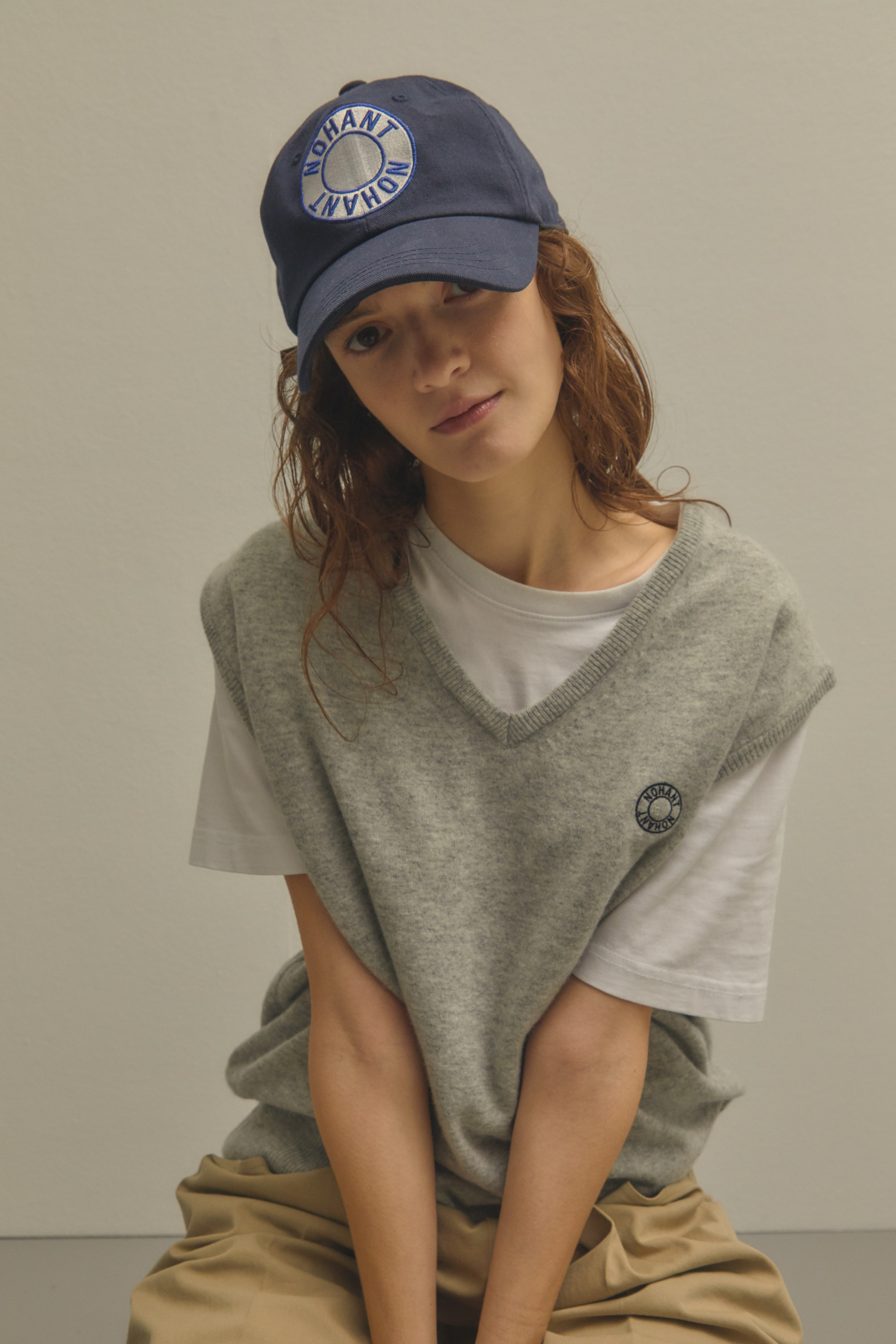 LOGO PATCH BALL CAP NAVY